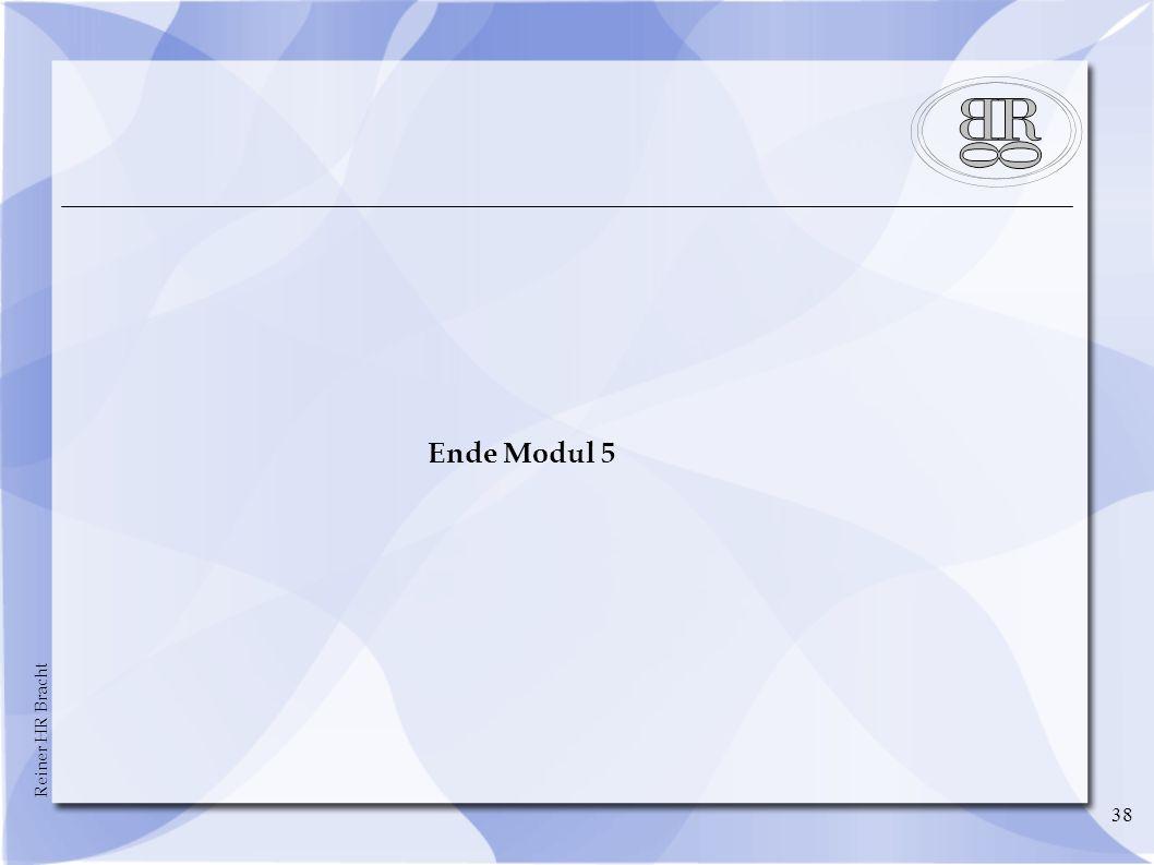 Ende Modul 5 38 38