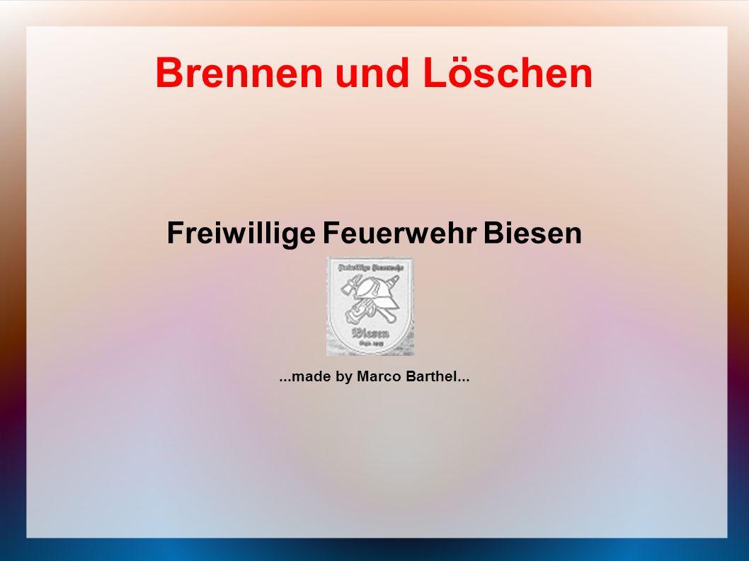 Freiwillige Feuerwehr Biesen ...made by Marco Barthel...