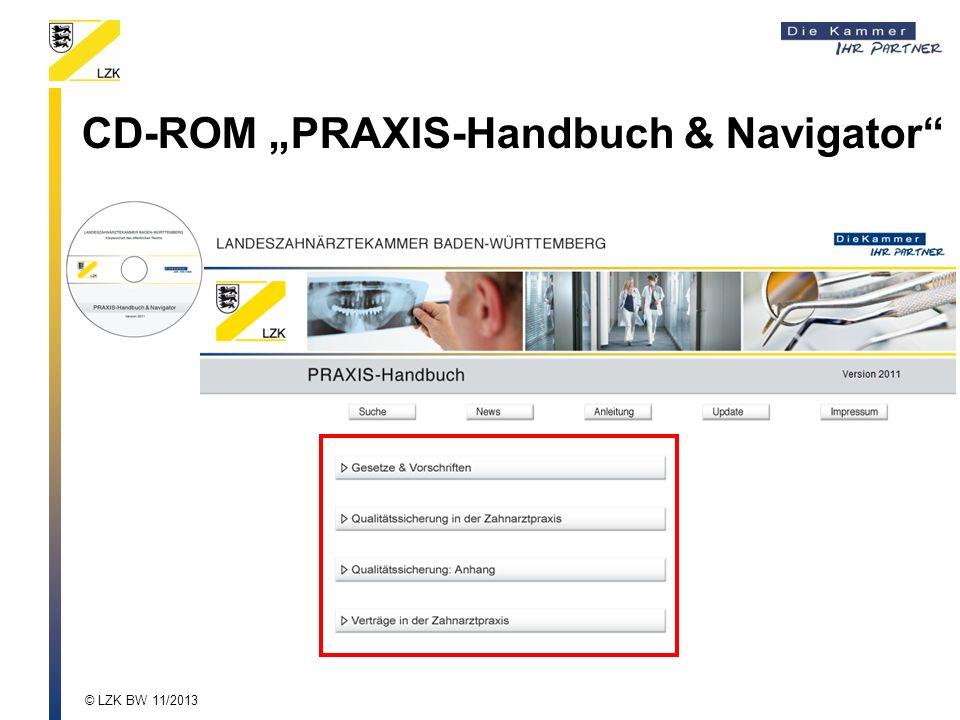 "CD-ROM ""PRAXIS-Handbuch & Navigator"