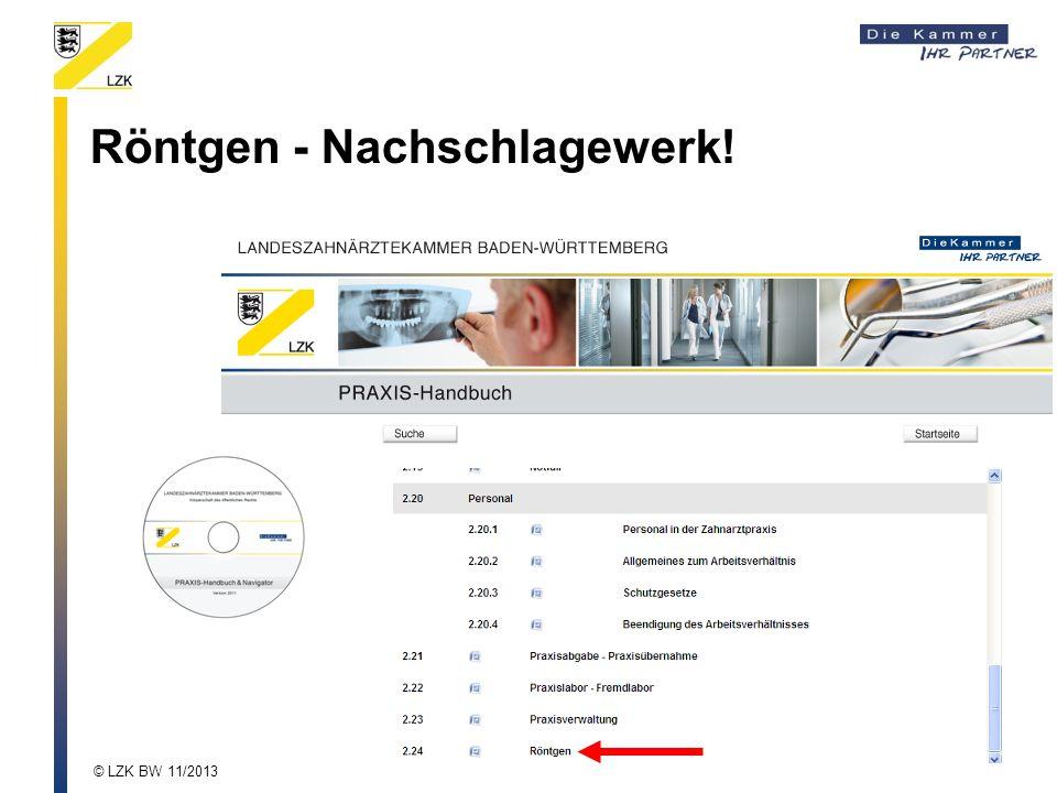 Röntgen - Nachschlagewerk!