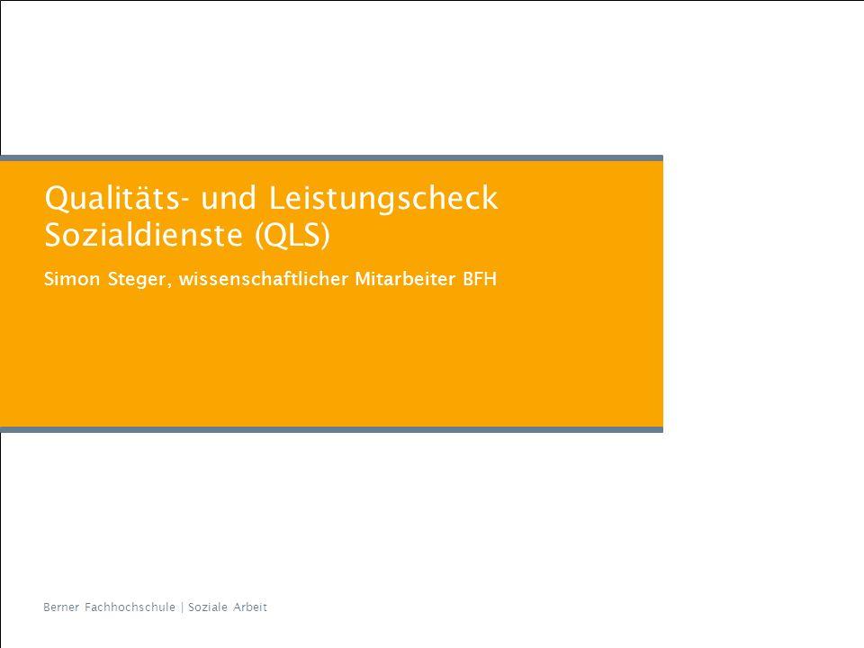 Qualitäts- und Leistungscheck Sozialdienste (QLS)