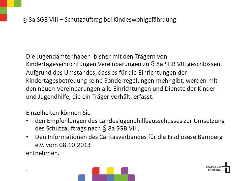 § 8a SGB VIII – Schutzauftrag bei Kindeswohlgefährdung