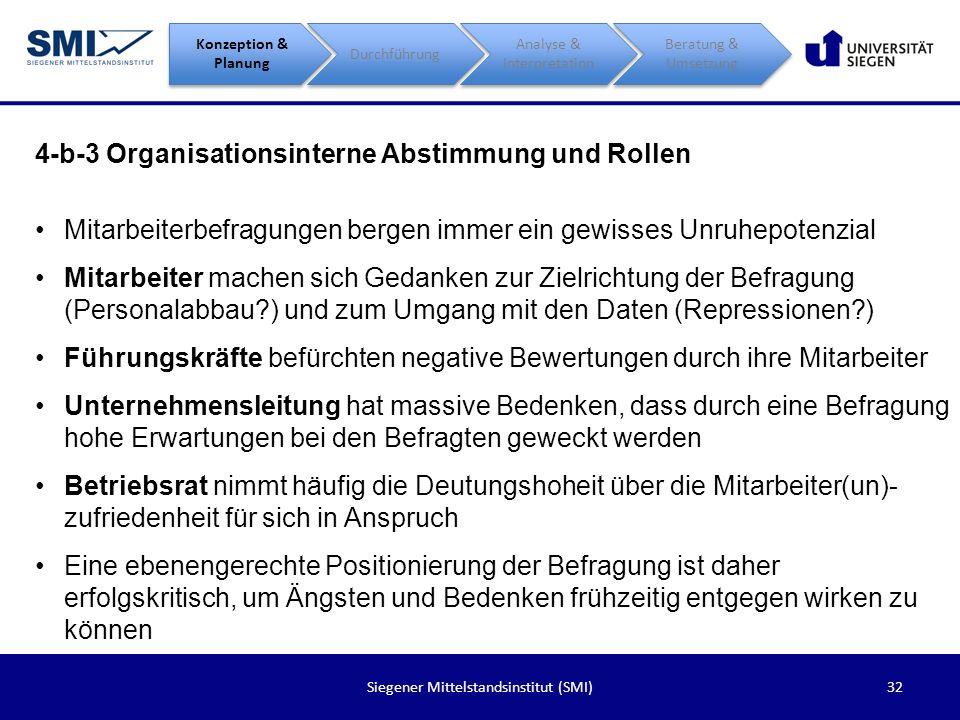 4-b-3 Organisationsinterne Abstimmung und Rollen