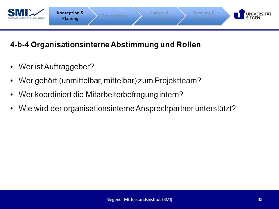 4-b-4 Organisationsinterne Abstimmung und Rollen