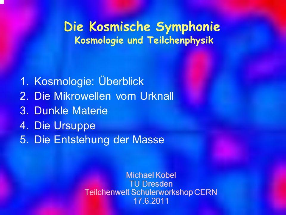 Die Kosmische Symphonie Kosmologie und Teilchenphysik