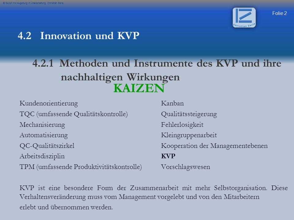 KAIZEN 4.2 Innovation und KVP