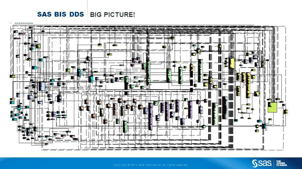 SAS BIS DDS Big Picture!