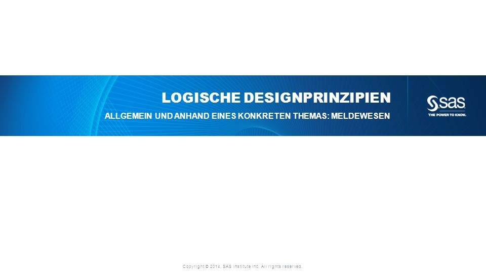 Logische Designprinzipien