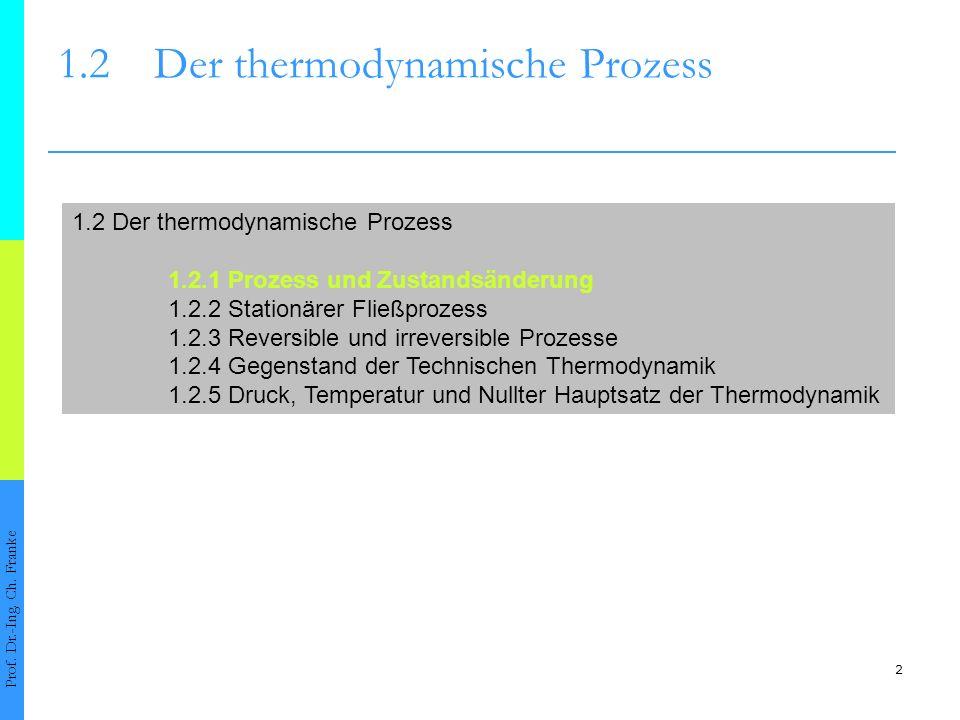 1.2 Der thermodynamische Prozess