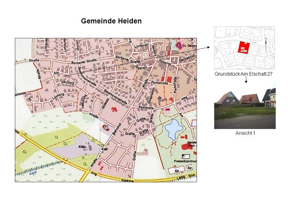 Gemeinde Heiden Grundstück Am Elschatt 27 Ansicht 1