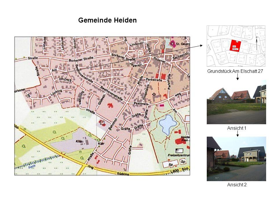 Gemeinde Heiden Grundstück Am Elschatt 27 Ansicht 1 Ansicht 2