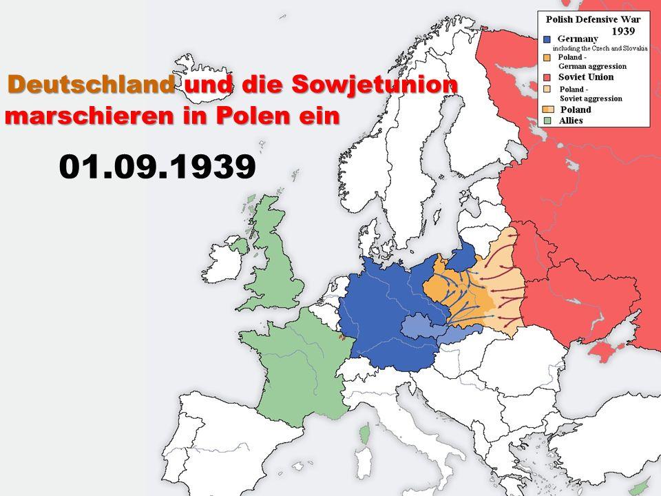 Deutschland und die Sowjetunion