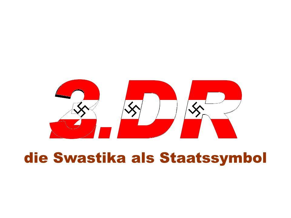 die Swastika als Staatssymbol