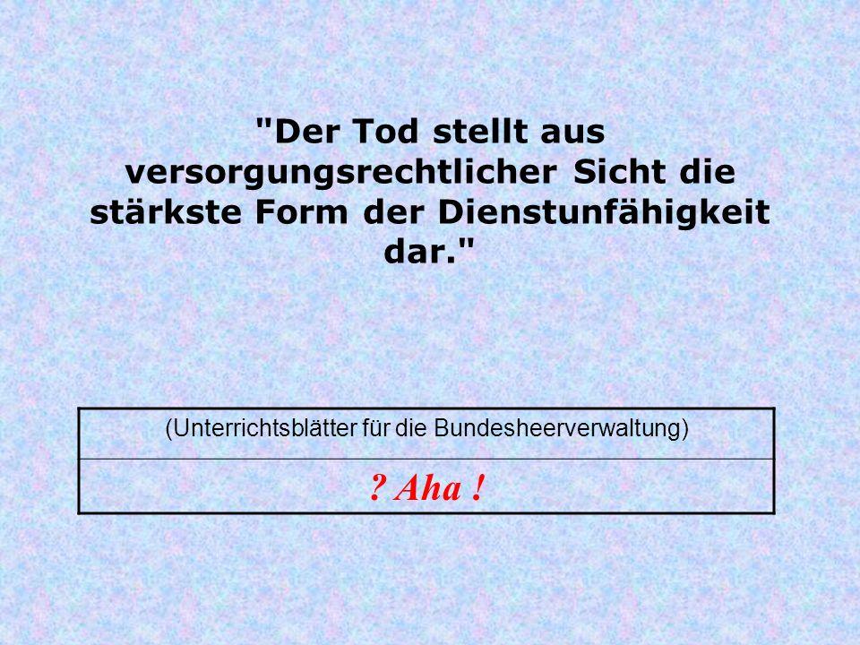 (Unterrichtsblätter für die Bundesheerverwaltung)