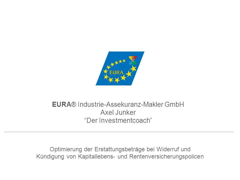 EURA® Industrie-Assekuranz-Makler GmbH Axel Junker
