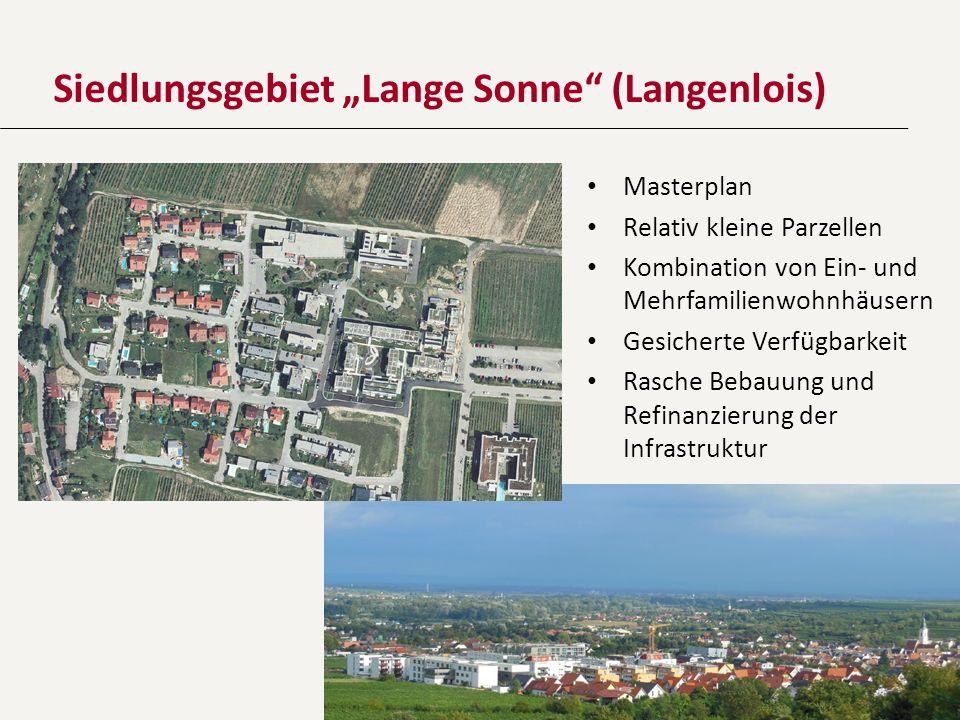 """Siedlungsgebiet """"Lange Sonne (Langenlois)"""