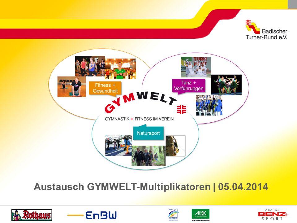 Austausch GYMWELT-Multiplikatoren | 05.04.2014