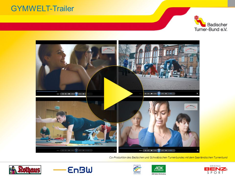 GYMWELT-Trailer http://youtu.be/CMWhfTGKcqc