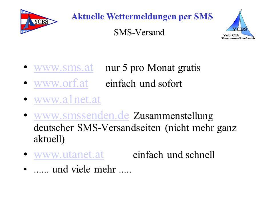 www.sms.at nur 5 pro Monat gratis www.orf.at einfach und sofort