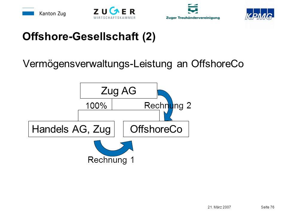 Offshore-Gesellschaft (2)