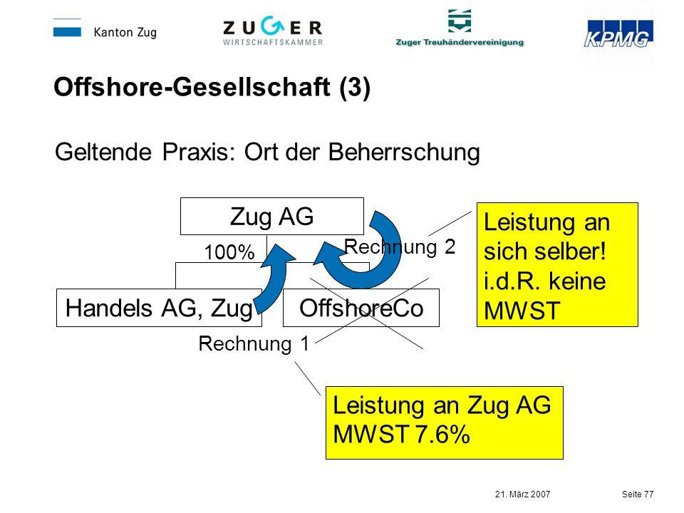 Offshore-Gesellschaft (3)