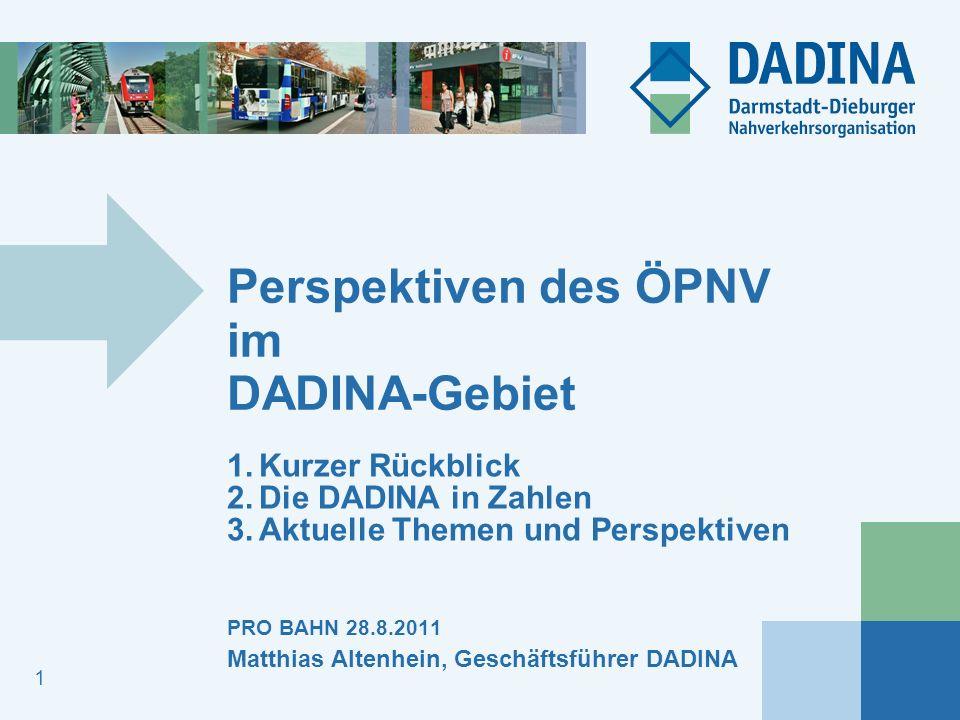 Perspektiven des ÖPNV im DADINA-Gebiet