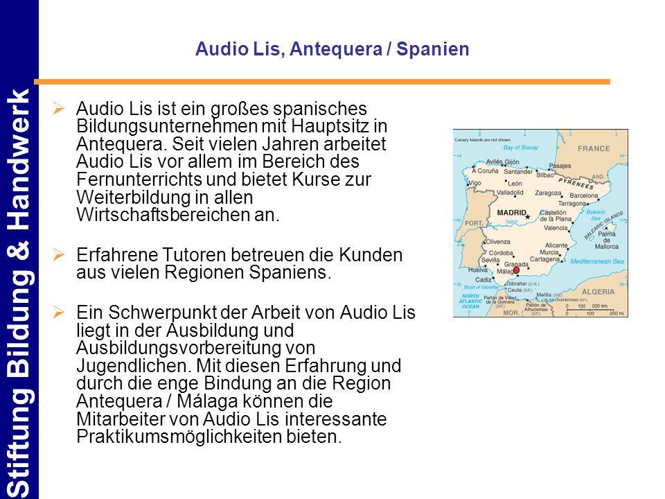 Audio Lis, Antequera / Spanien