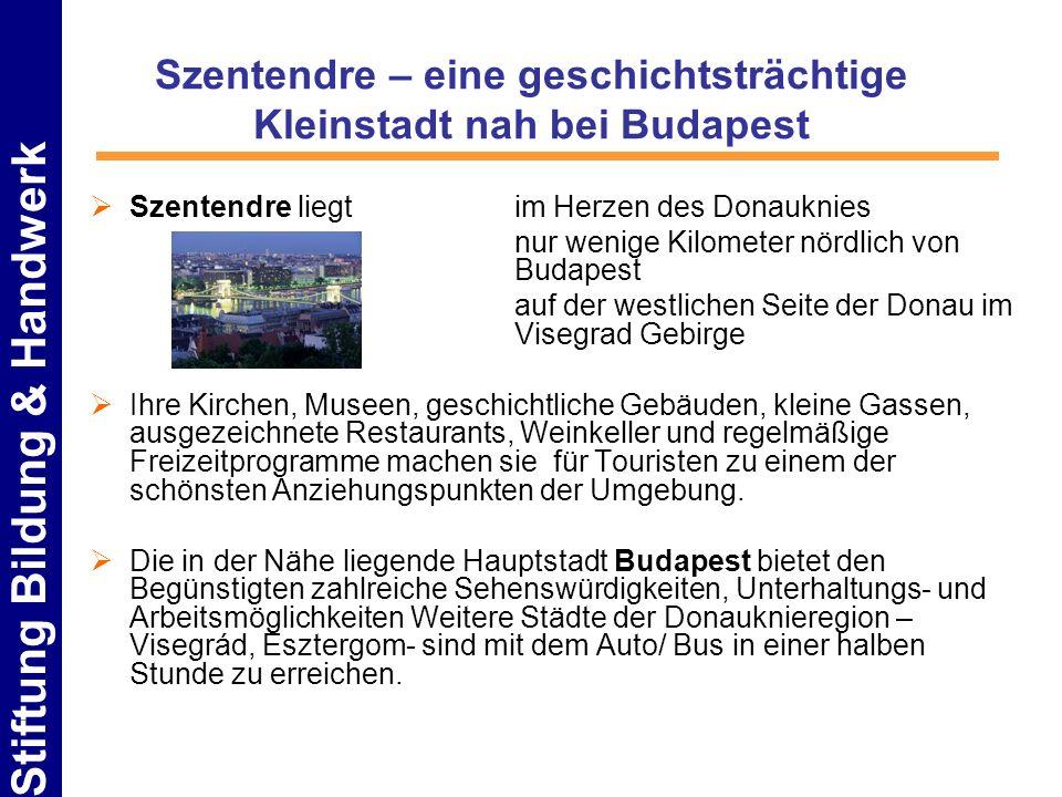 Szentendre – eine geschichtsträchtige Kleinstadt nah bei Budapest