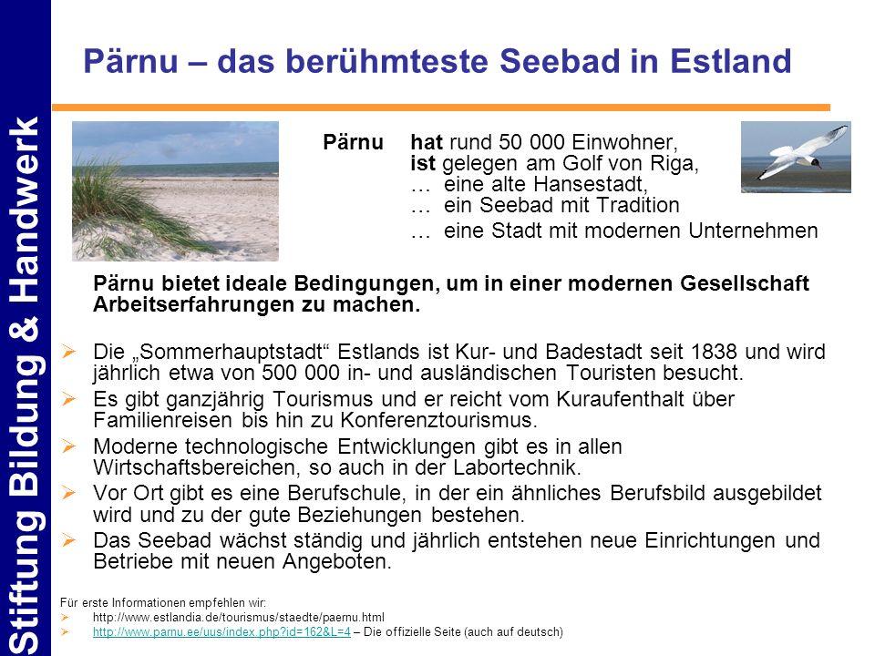 Pärnu – das berühmteste Seebad in Estland
