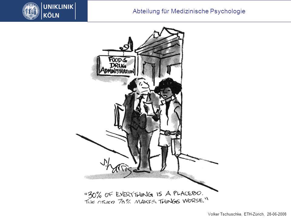 Fazit: Psychotherapie = Placebo
