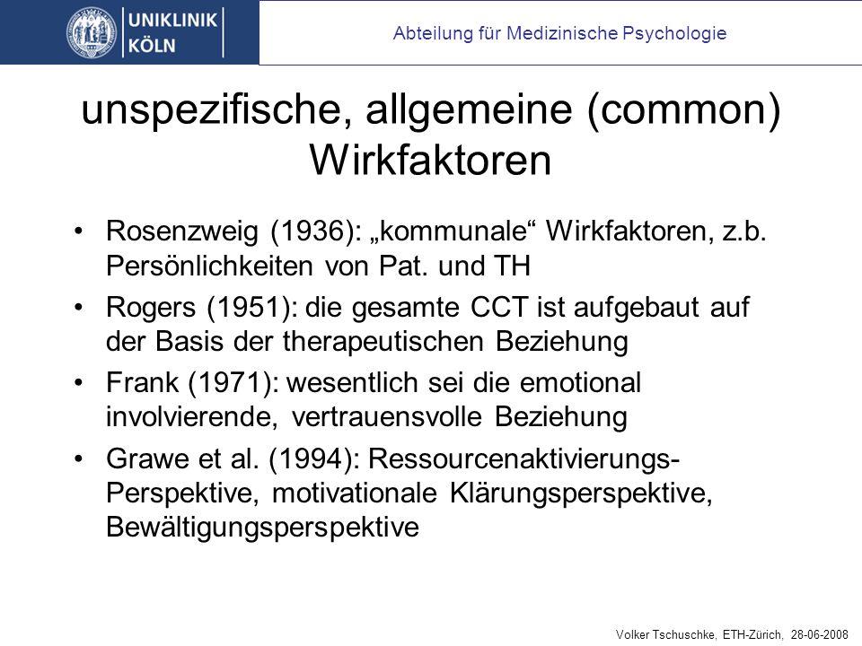 """Problematik des Begriffs """"Placebo in der Psychotherapie"""