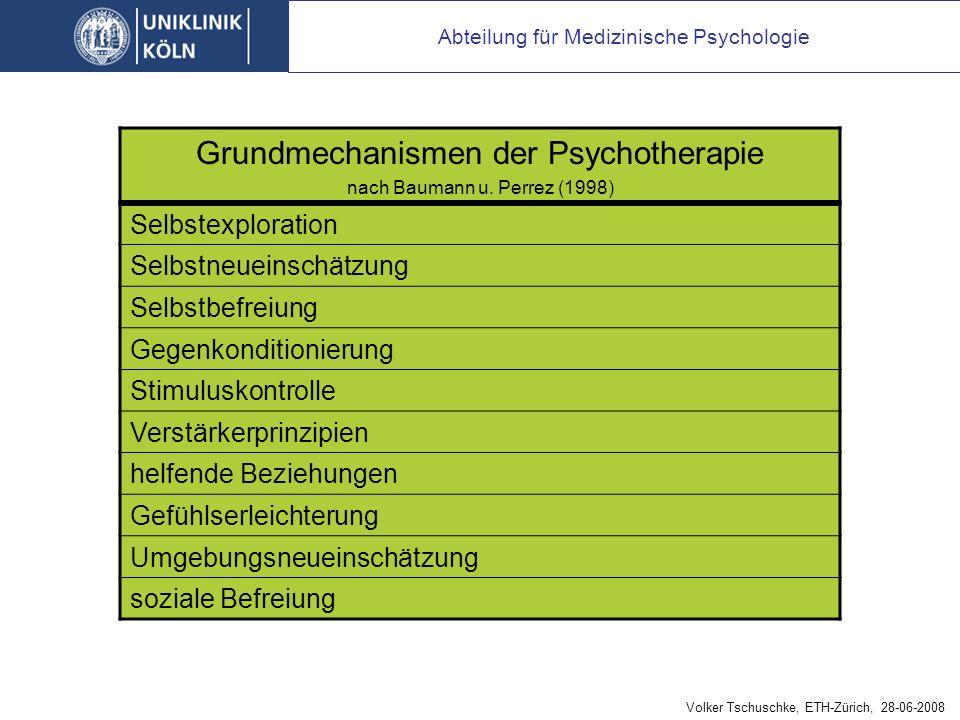 unspezifische, allgemeine (common) Wirkfaktoren