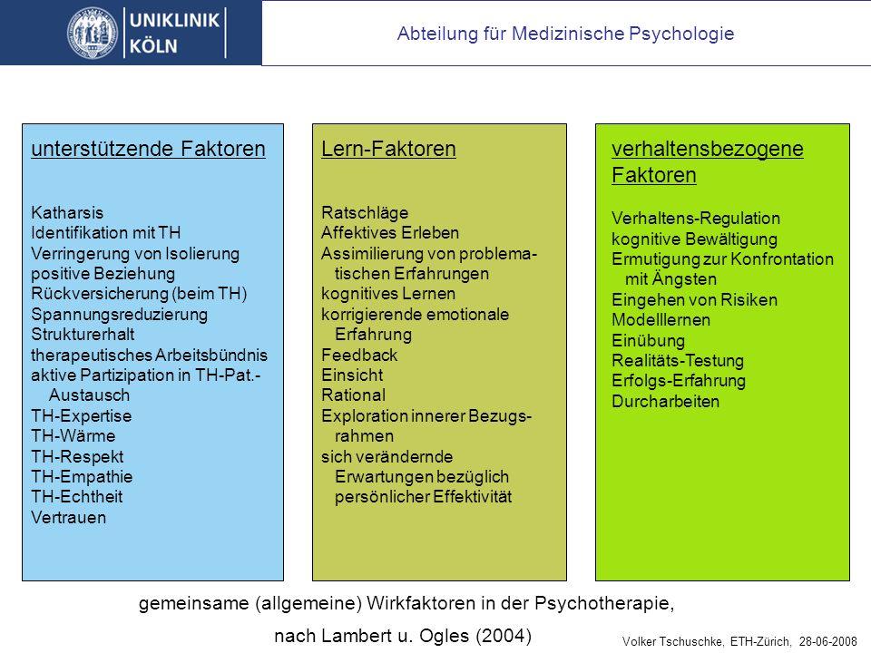 Grundmechanismen der Psychotherapie