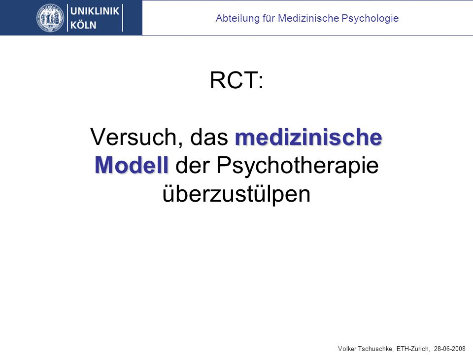 Evidenzbasierung in der Psychotherapie