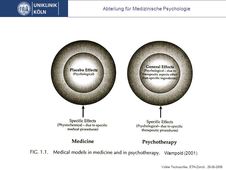 RCT: Versuch, das medizinische Modell der Psychotherapie überzustülpen