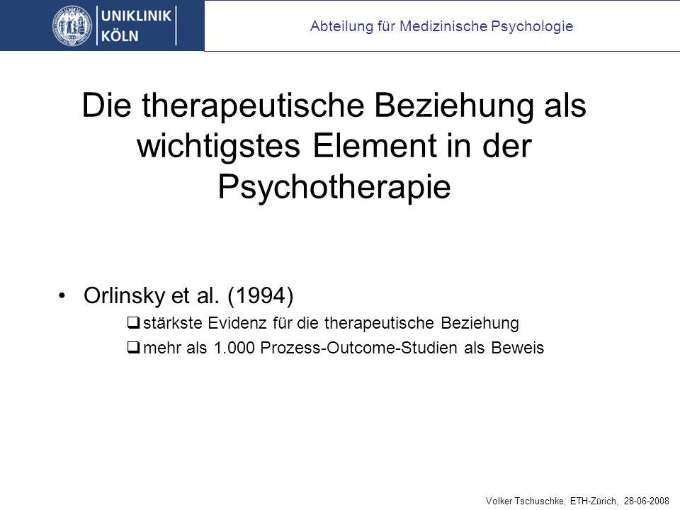 vier Klassen therapeutischer