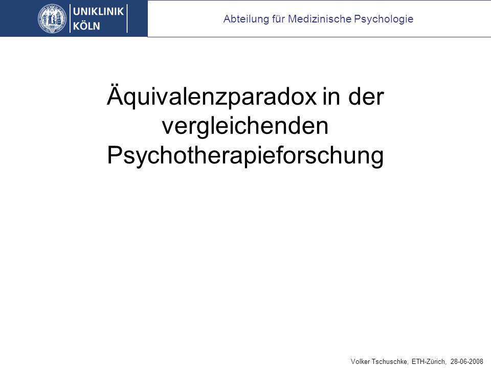 Abteilung für Medizinische Psychologie