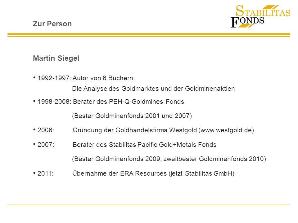 Zur Person Martin Siegel 1992-1997: Autor von 6 Büchern: