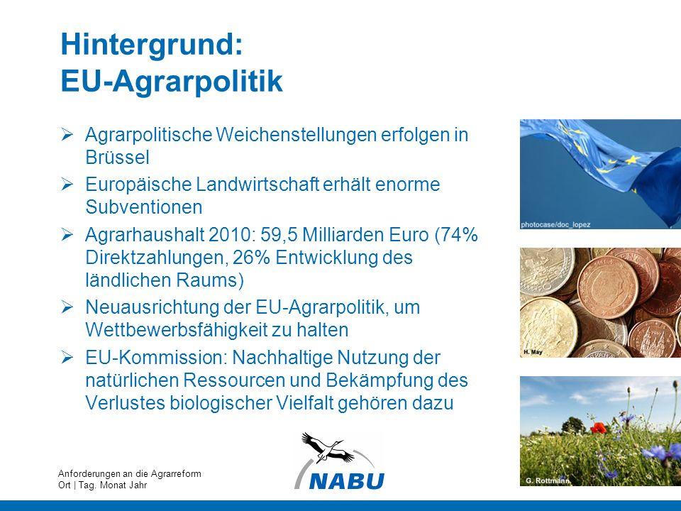 Hintergrund: EU-Agrarpolitik