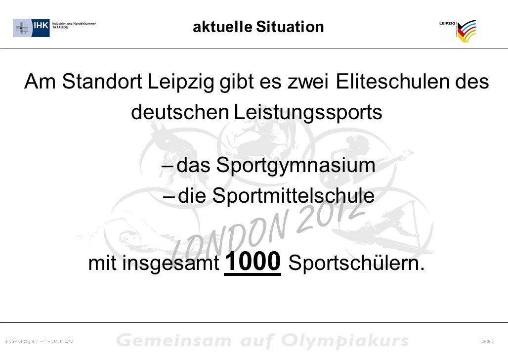 Am Standort Leipzig gibt es zwei Eliteschulen des
