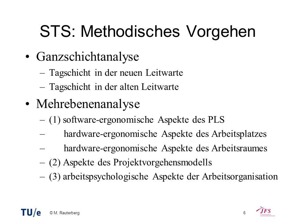 STS: Methodisches Vorgehen