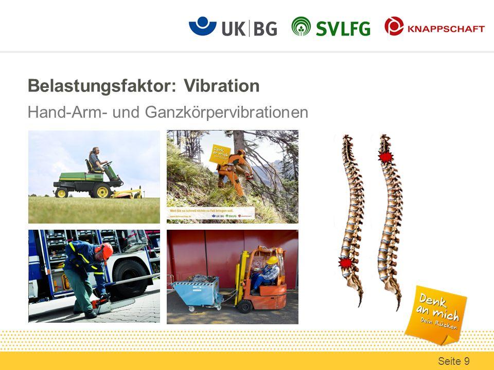 Belastungsfaktor: Vibration