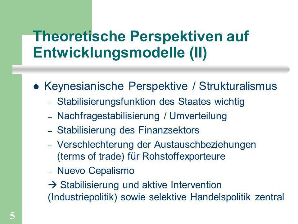 Theoretische Perspektiven auf Entwicklungsmodelle (II)