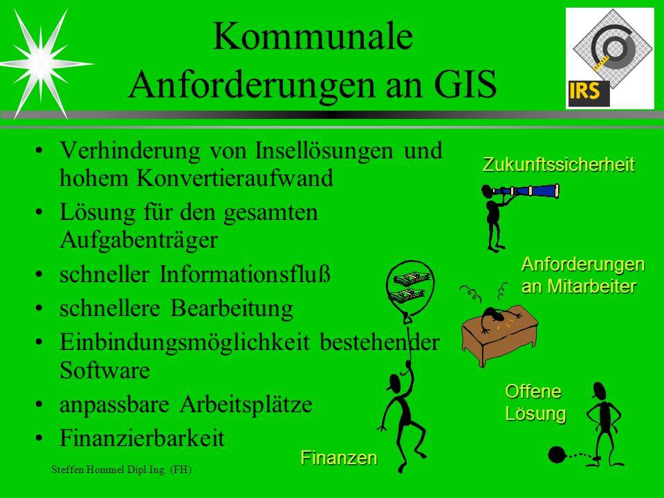 Kommunale Anforderungen an GIS