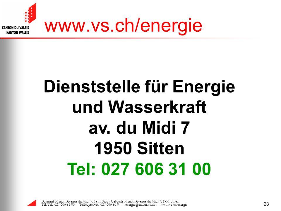 Dienststelle für Energie und Wasserkraft