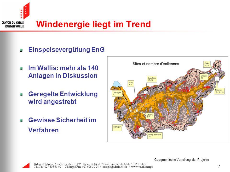 Windenergie liegt im Trend