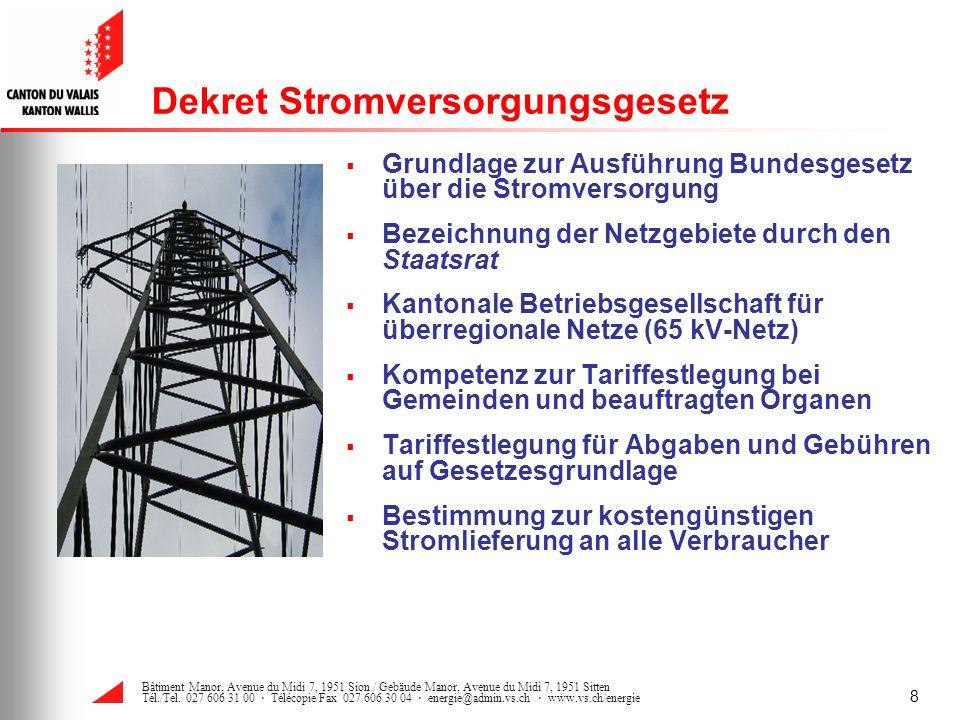 Dekret Stromversorgungsgesetz