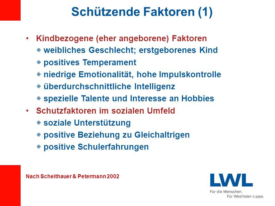 Schützende Faktoren (1)