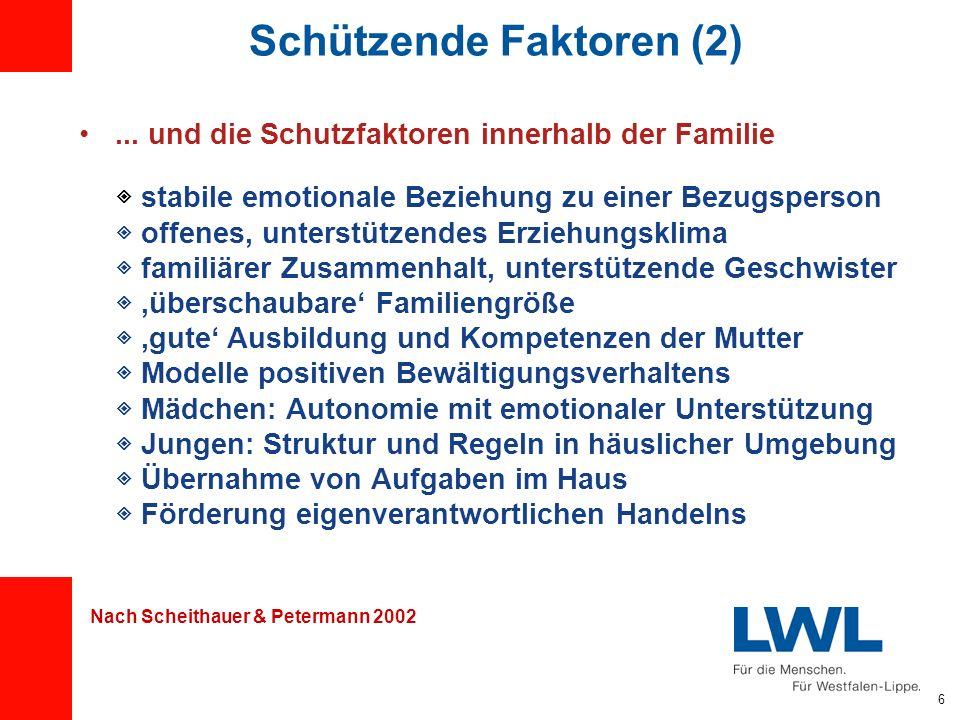 Schützende Faktoren (2)