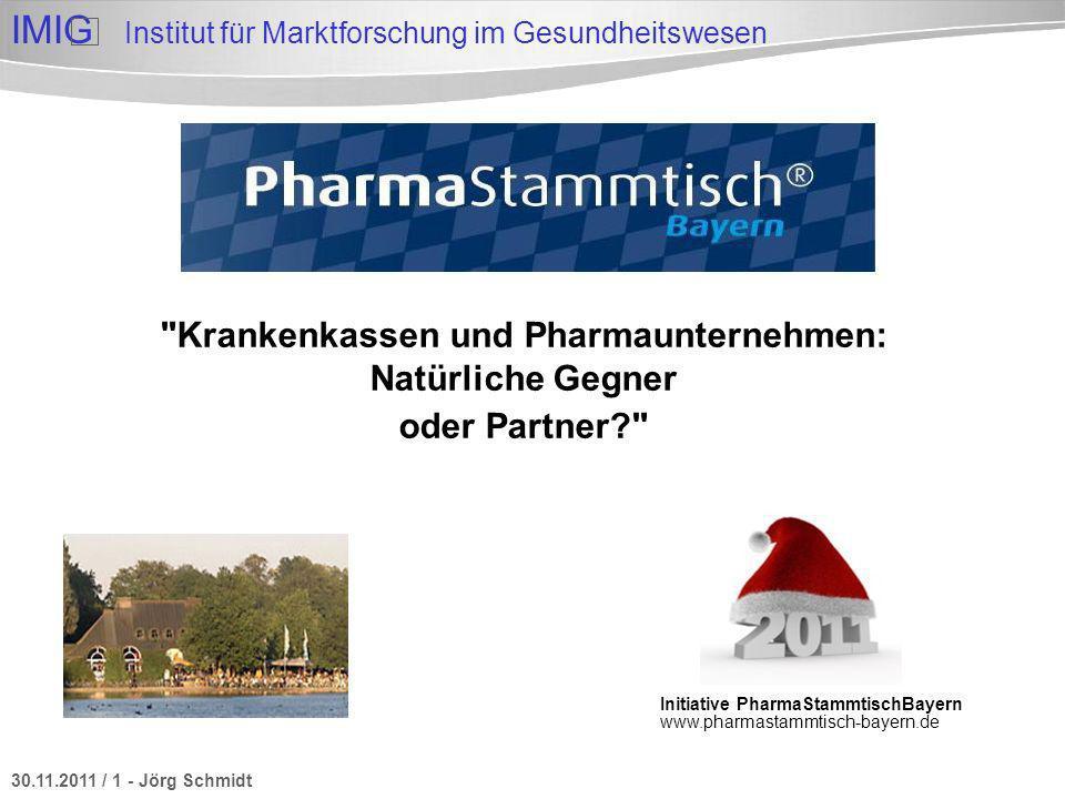 Krankenkassen und Pharmaunternehmen: Natürliche Gegner oder Partner